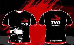 Camisa personalizadas TVG caminhões