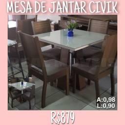 Mesa de jantar 4 cadeiras civic mesa de jantar mesa de jantar 447947949