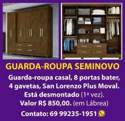 guarda-roupa 8 portas