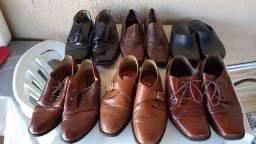 6 pares de sapatos 42