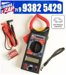 Alicate Amperimetro Medidor Ac / dc Luatek Multimetro