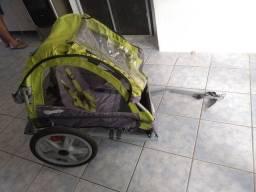 Reboque para bicicleta infantil trailer bike baby