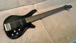 Baixo Tagima Menphis 5 cordas. Contrabaixo regulado por luthier com garantia de 1 mês