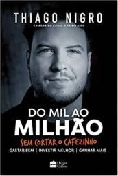 Livro Do Mil ao Milhão - NOVO