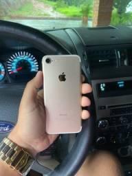 iPhone 7 Dourado Estado De Novo! Aceito Cartão!