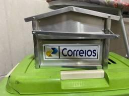 Caixa de correios ou correspondências NOVA, em alumínio. ENTREGO