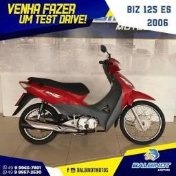 Título do anúncio: Biz 125 ES 2006 Vermelha