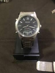 Relógio Orient Anadigi com alarme