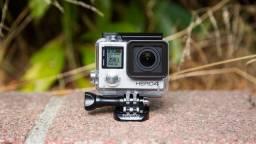 Gopro Hero 4 Silver camera 4k 30 quadros ultra hd  + diversos acessórios