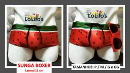 Sunga Boxer - Melancia