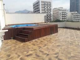 Cobertura com 2 dormitórios à venda, 240 m² por R$ 4.600.000,00 - Leblon - Rio de Janeiro/