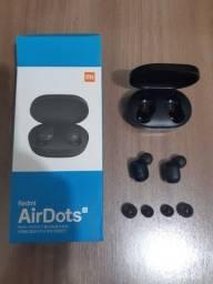 Fone de ouvido sem fio Xiaomi Redmi Airdots s TWS Bluetooth 5.0 em Pindamonhangaba SP