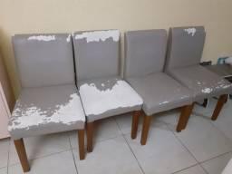 cadeira madeira tokstok pra reformar estofada pra vender hoje
