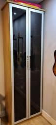 Título do anúncio: Armário em MDF com porta de vidro Todeschini
