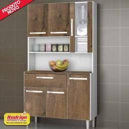 Título do anúncio: Kit Cozinha Cancun 6 Portas Incorplac Cor Branco Malbec