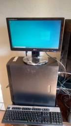 Computador completo gabinete+monitor+teclado+mouse