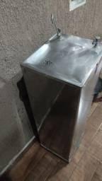 BEBEDOURO INOX