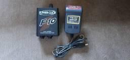 Amplificador de volume Fone de ouvido Power Click F10 + Fonte Ps01
