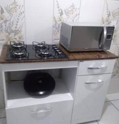 Fogão Cooktop com bancada