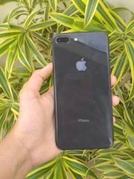 Iphone 8 plus 64 gb 100% bateria