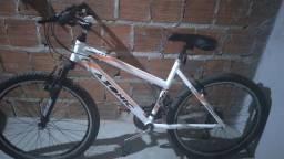 Bicicleta toda no alumínio