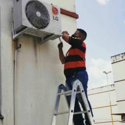 Título do anúncio: Instalação ar condicionado