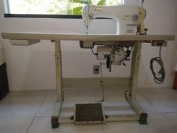 Máquina de costura Singer Reta Industrial 191D-20 completa com bancada
