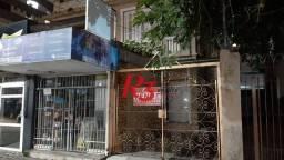 Casa com 5 dormitórios à venda, 131 m² - Gonzaga - Santos/SP