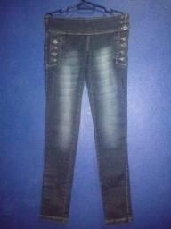 Calça jeans cintura baixa 25 R$ cada