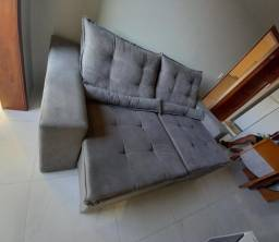 Título do anúncio: Sofá/Estofado 2,30 C/Pillow Retrátil - NOVO de Fábrica