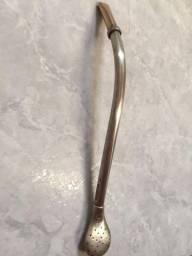 Bomba de chimarrão prata 800