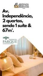 Título do anúncio: Apartamento 02 Quartos Proximo a Augusto Montenegro