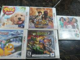 Lote jogos 3ds