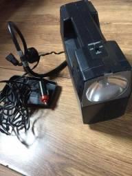 Lanterna e bomba de ar pneus