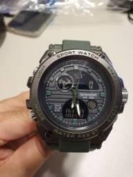 Relógio Sanda 739 verde militar