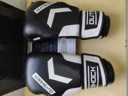 Luvas de Boxe / Muay Thai / 10oz / Usada Poucas Vezes