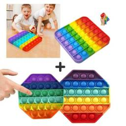 Título do anúncio: Fidget Toy Brinquedo Antistress Bolha Sensorial-pop It