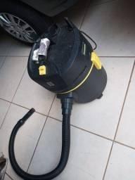 Aspirador karcher agua e po funcionando precisa de reparos
