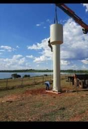 Reservatório d'água - caixa d' água tipo taça