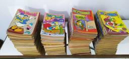 260 gibis Disney pato Donald e Zé Carioca Coleção editora abril
