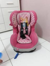 Cadeira de carro usada princesas Disney até 25 kg