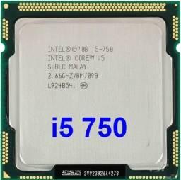 Processador Intel® Core? i5-750 Cache 8M, 2,66 GHz (1ª geração)