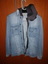 Jaqueta jeans Hering tamanho P