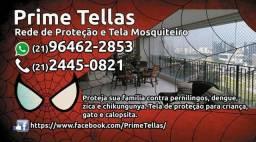 Tela de proteção p/ criancas e gatos - Prime Tellas