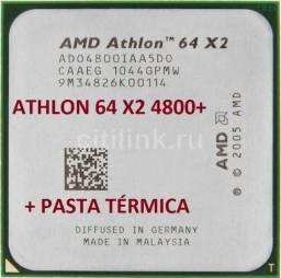 Processador Amd Athlon 64 X2 4800+ Socket Am2 com Pasta Térmica