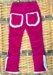 Kit com 3 calças infantil