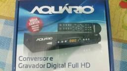 Conversor e Gravador Digital Aquário Dtv8000 Pra Tv