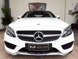 Mercedes-benz C-250 2.0 CGI Sport Coupe TB 2016/2016 Branco Blindado - 2016
