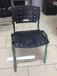 Cadeira auditório nova preta