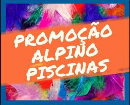 MGP-01500 Piscina nova Alpino 5,60/2,90/1,10m 15 anos de garantia